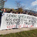 UGT-FICA sólo acepta reducciones de plantilla en Siemens Gamesa mediante bajas incentivadas o no traumáticas