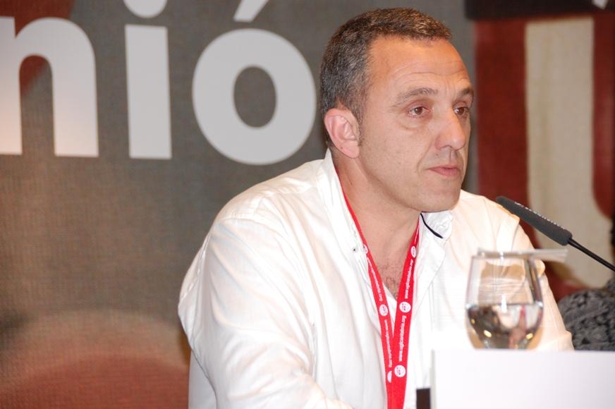 Mariano Carmona, secretario general de UGT en Cantabria
