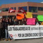 La huelga responde a la negativa de la empresa a actualizar salarios y convenio colectivo
